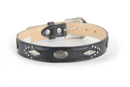Black with Longhorn Conchos