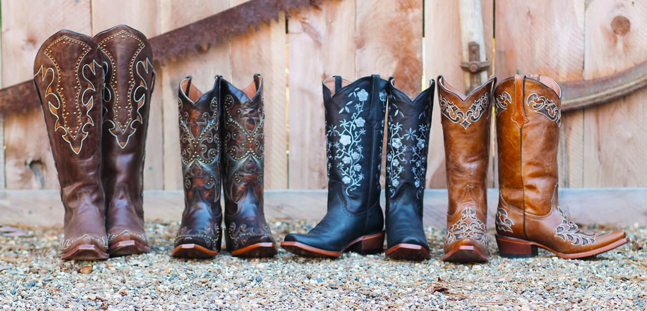 Authentic Western Cowboy Boots