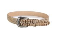 Embossed Caiman Belly Orix