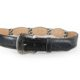 Black billet with Scalloped Edge Concho