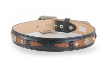 Black with Cognac and Conchos